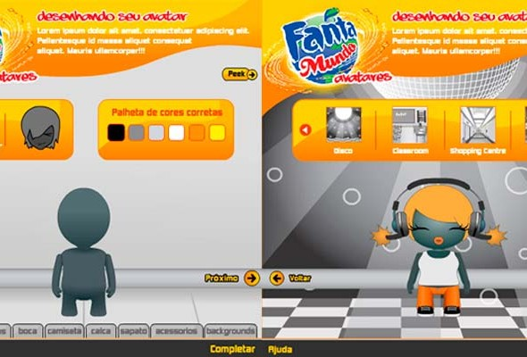 FANTA, Brazil - Avatar Creation Game (online)