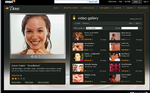DOVE - Dove Oscars® Video Creation Tool (web)