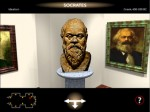 Upon entering the virtual museum, viewers navigated through a maze of rooms, each featuring famous philosophers. A click activates an audio quote. David Scully's narration brought the iconic cast of characters to life.