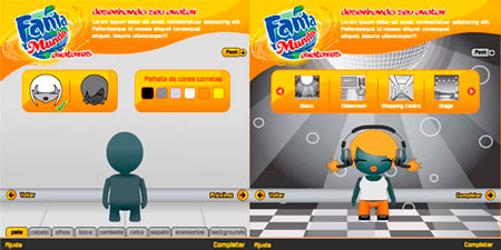 FANTA, Brazil  Avatar Creation Game (online)  Run Chica - Home