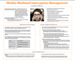 MOBILE-MEDIATED INTERRUPTION MGT (poster)
